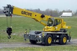 Короткобазный кран Grove RT 530E-2