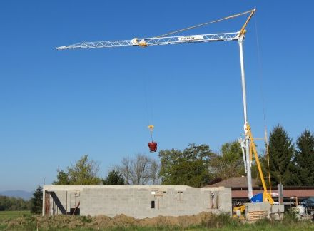 Быстромонтируемый башенный кран Potain IGO M 14