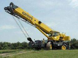 Короткобазный кран Grove RT 760E