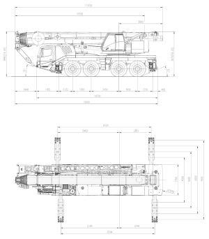 Автокран GROVE GMK 4100