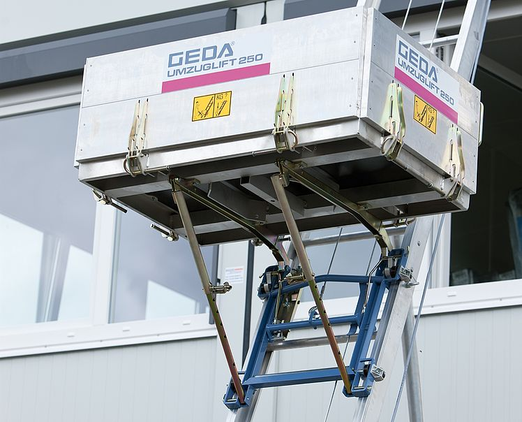 Подъемник для переездов GEDA Removal Hoist - Лестничные